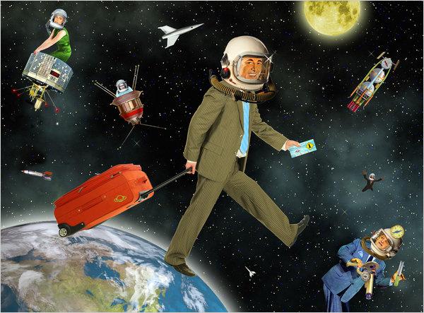 السياحة الفضائية – سياحة الفضاء